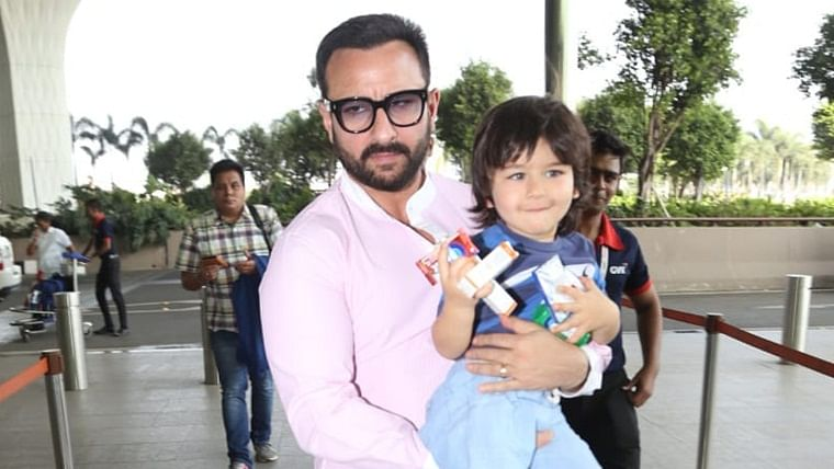 Taimur Ali Khan doesn't leave home without his travel essentials