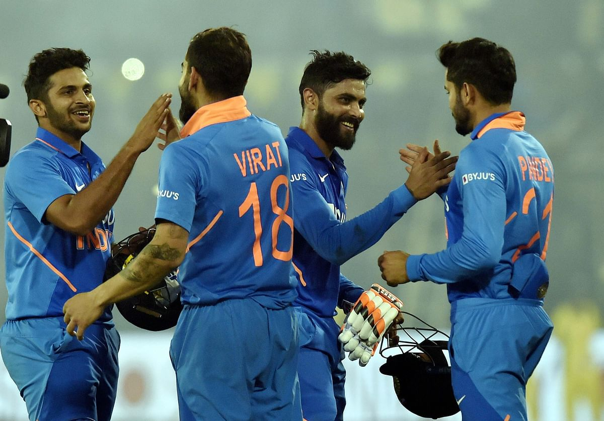 India vs West Indies: India chase down 316 to clinch series