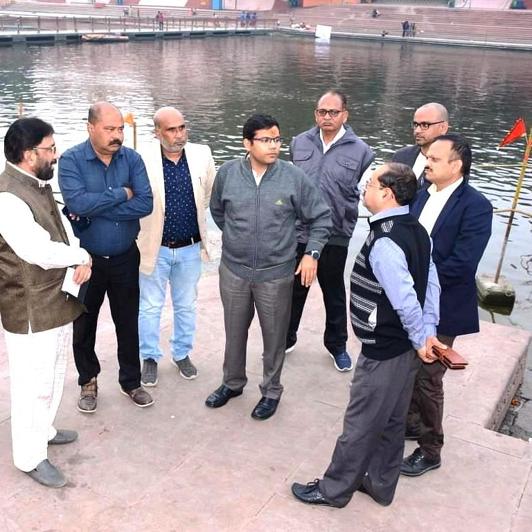 Ujjain: New UMC commissioner takes stock of existing projects