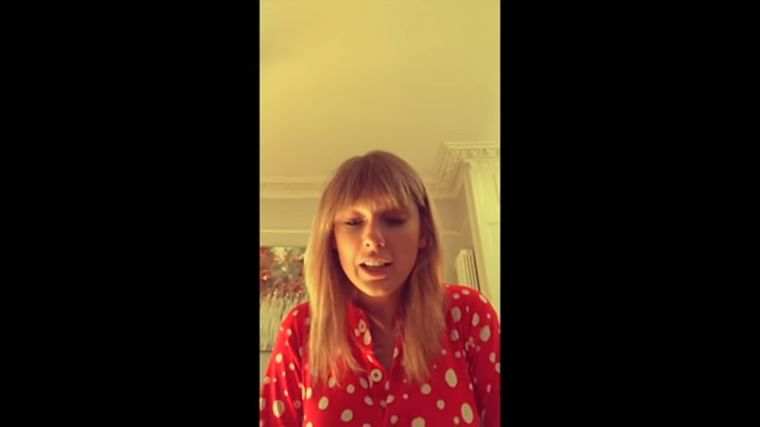 Watch: Taylor Swift's super adorable behind the scenes video from the song Christmas Tree Farm