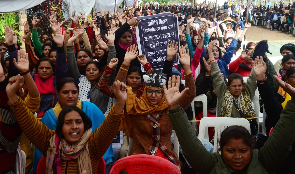 Bhopal: Guest scholars denied permission to protest at Shahjehani Park