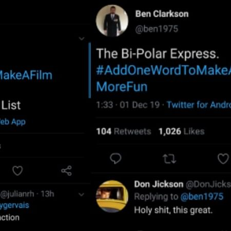 #AddOneWordToMakeAFilmMoreFun: Viral hashtag has made it a laughter Sunday for movie buffs