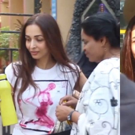 Arbaaz ji ki taraf se: Malaika Arora gets annoyed at poor lady for using Arbaaz Khan's name