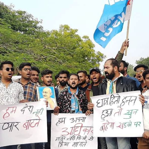 Ujjain: NSUI performs 'good sense yagna'