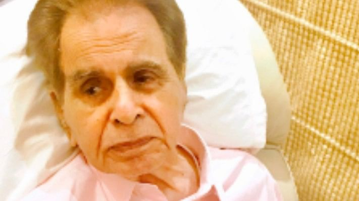Dilip Kumar gets teary-eyed as he turns 97 today