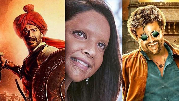 Deepika's 'Chhapaak' to clash with Ajay's 'Tanhaji' and Rajinikanth's 'Darbar'