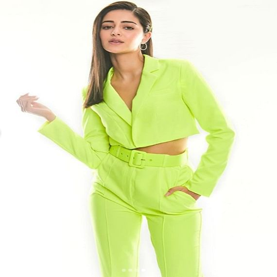 Ananya Panday pens thank you note for 'Pati Patni Aur Woh' star cast