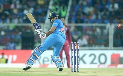 Ind vs WI 2nd T20I: Twitter trolls Rohit Sharma for getting out on a poor shot