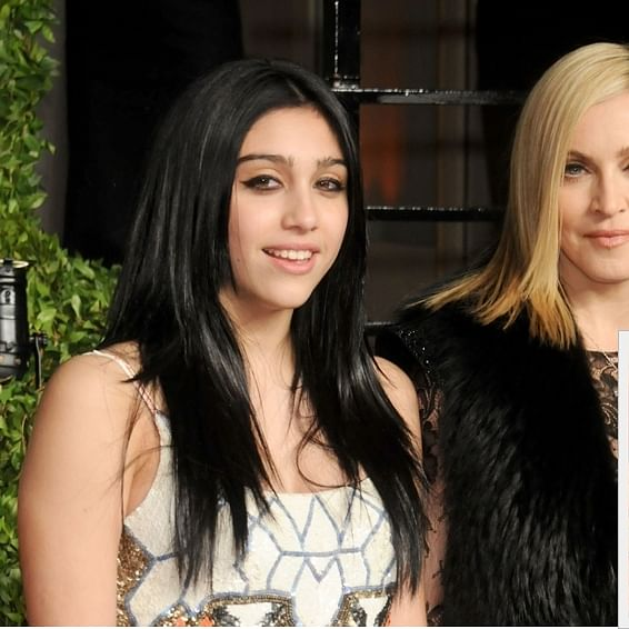 Madonna's daughter Lourdes performs nearly nude scene in a stimulated orgy