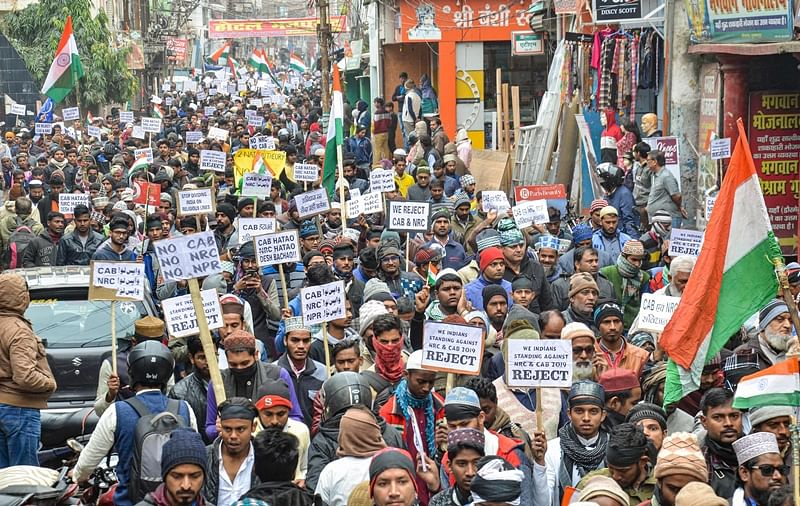 Image result for cab and nrc congress protest