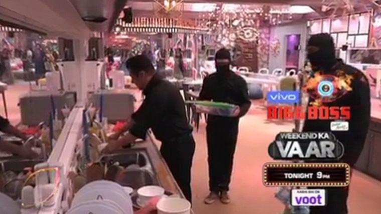 Salman Khan Cleans Dirty Dishes And Washroom To Teach Bigg