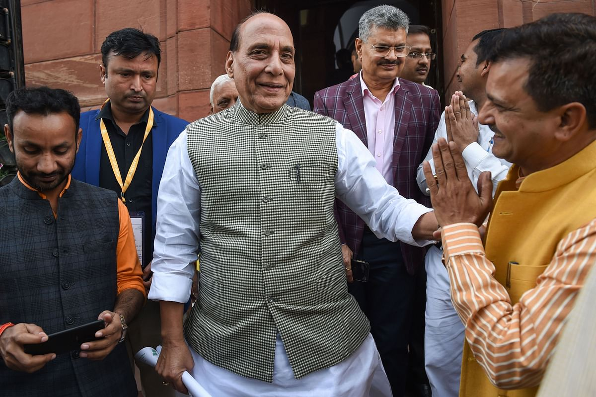 Parliamentary party meet: Rajnath Singh speaks of PM's dissatisfaction with absenteeism among BJP MPs