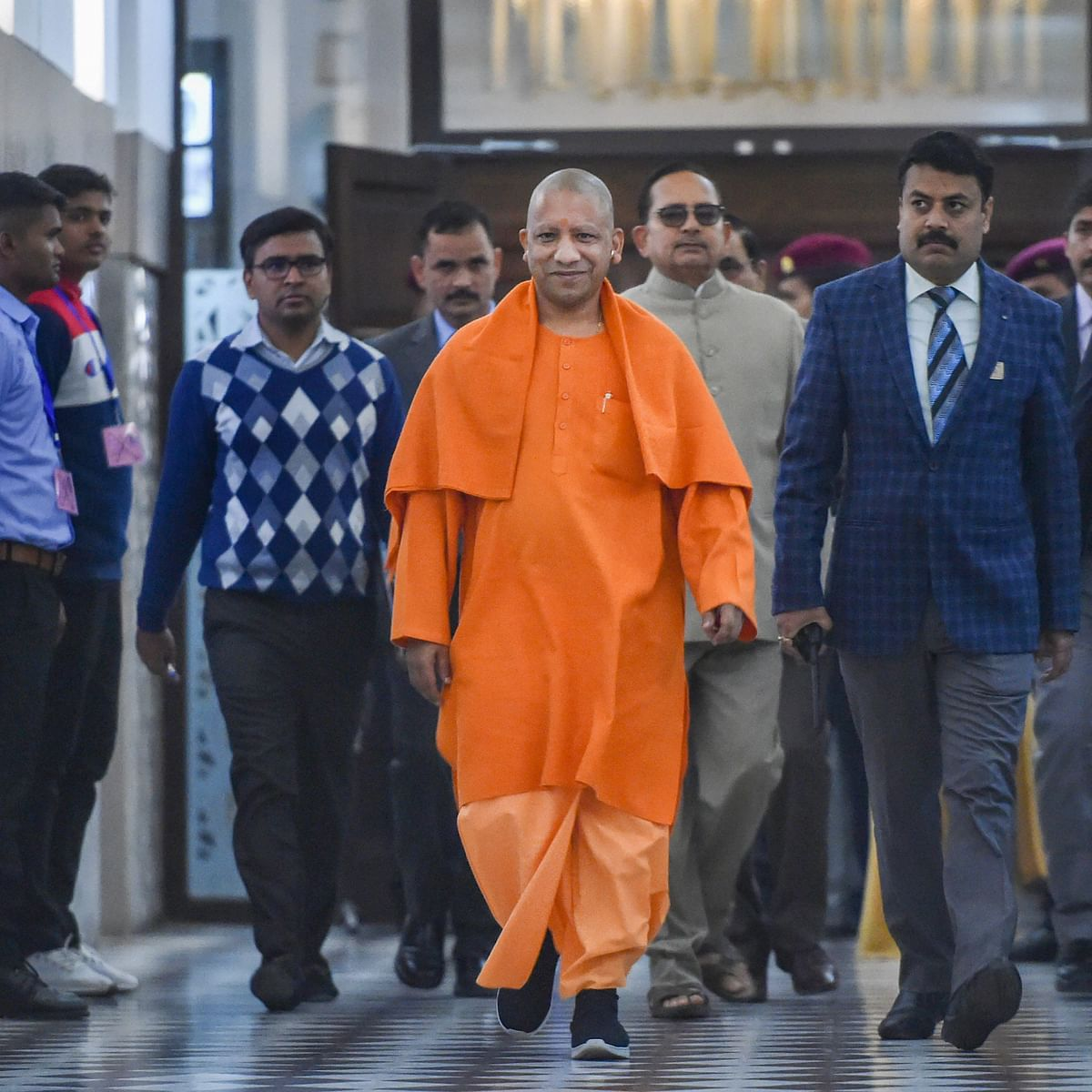 UP CM Yogi Adityanath unveils new population policy, says in increasing population a 'hurdle in development'
