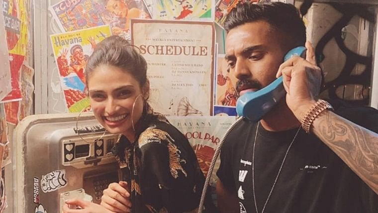 KL Rahul makes it Instagram official with Athiya Shetty, shares photo with Suniel Shetty connection