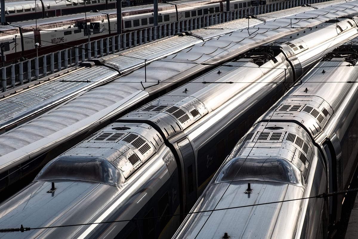 Trains are stationed in the Gare du Nord, the main train station for trains to Northern France and also for the Eurostar from London, Lille and Brussels in Paris.