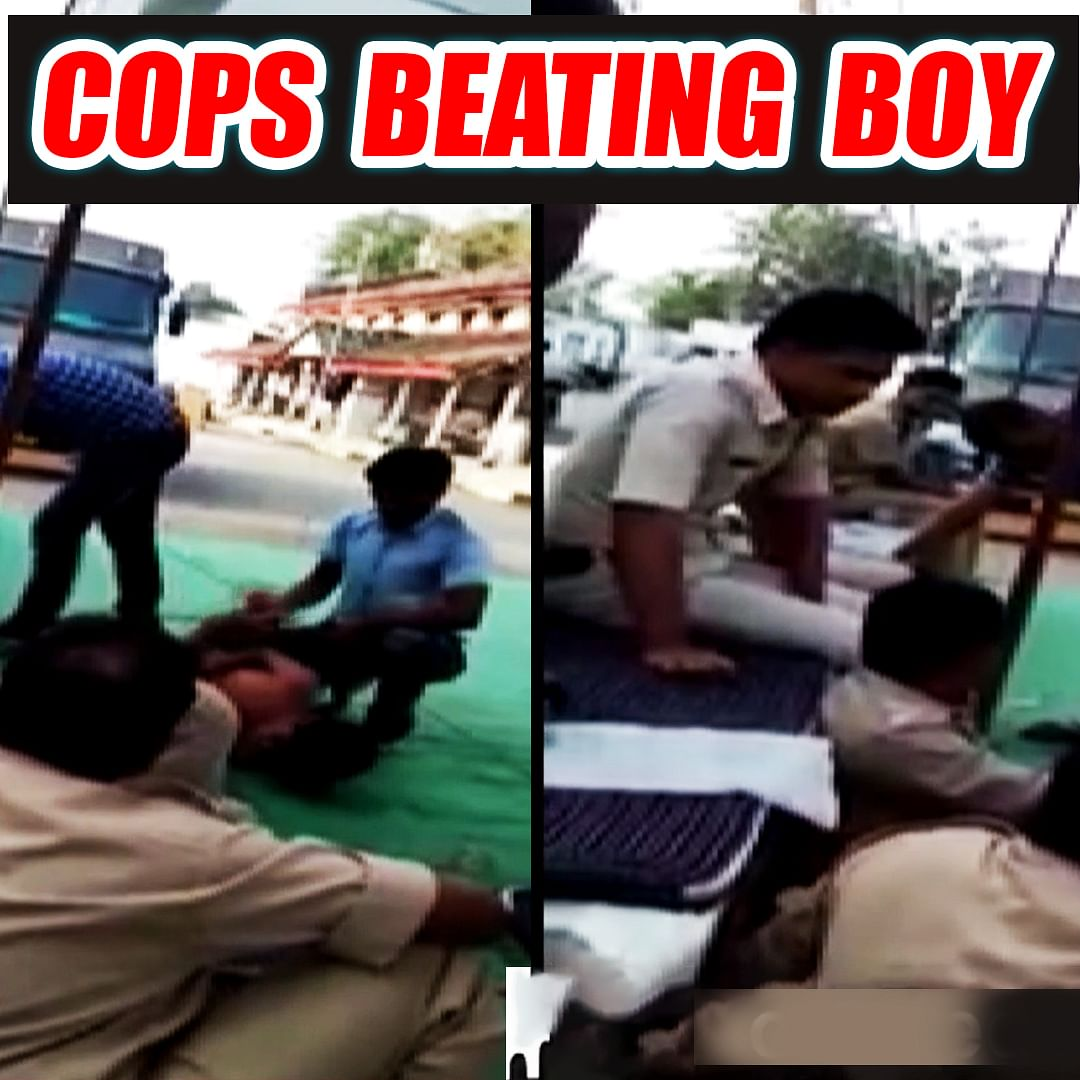 Video of cops beating boy goes viral in MP's Damoh
