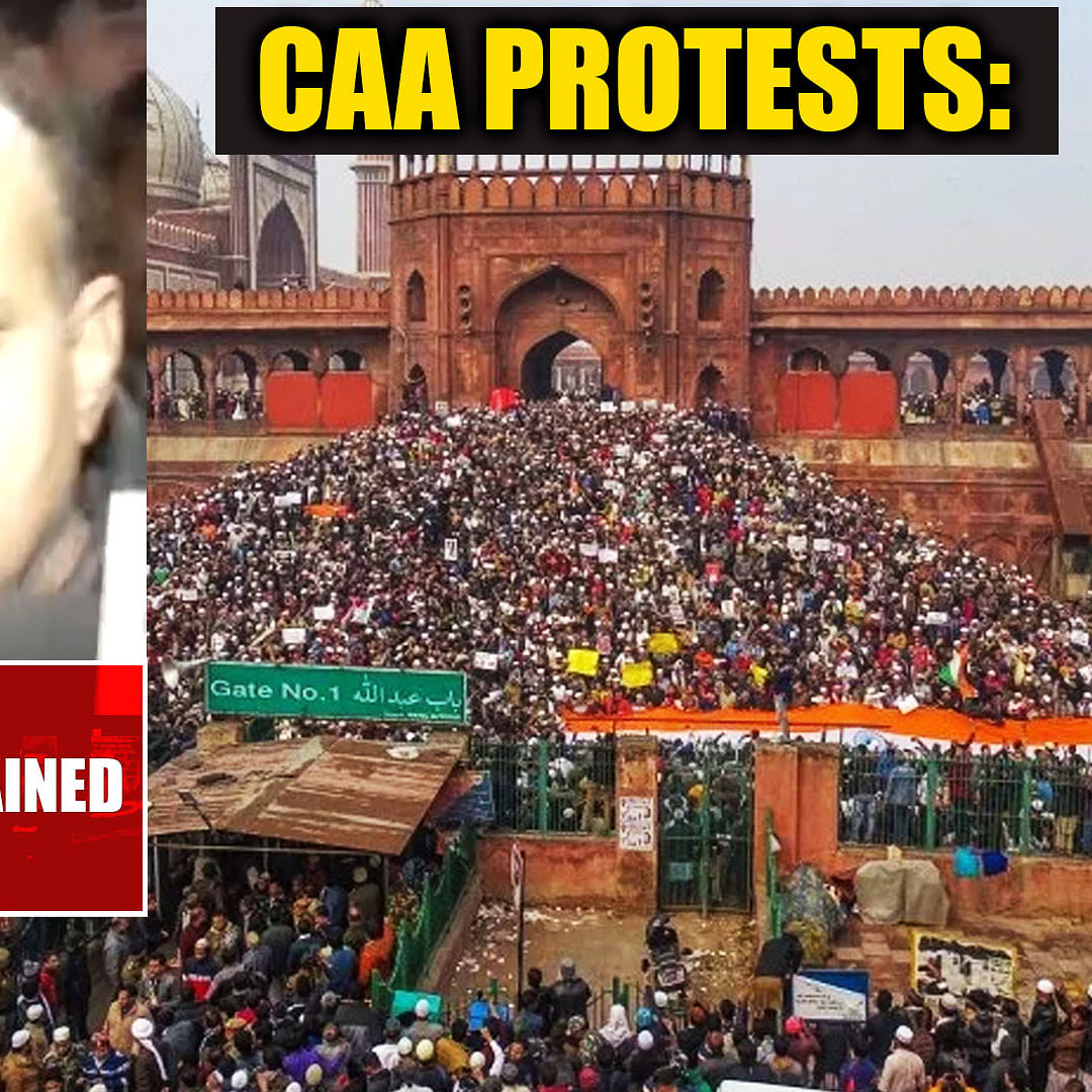 CAA protests: Bhim Army chief detained by Delhi Police from Jama Masjid
