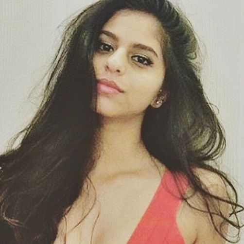 Suhana Khan's sexy new avatar with a plunging neckline is making waves on the internet