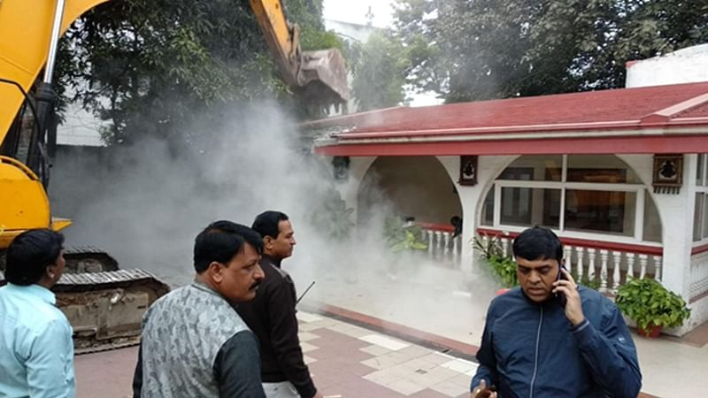 IMC demolishes house, three hotels of Jitu Soni
