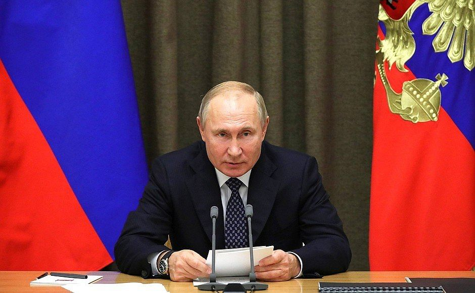 Russia's President Vladimir Putin slams WADA, calls the ban 'politically motivated'