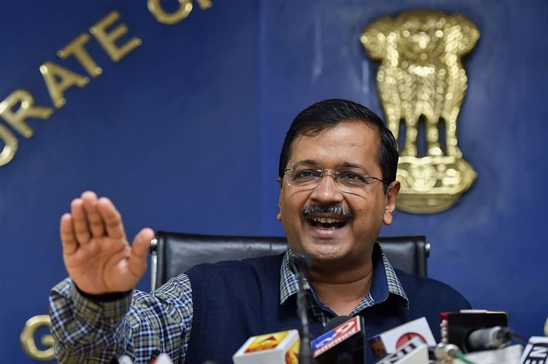 Revenue surplus over 5 years possible as Delhi has non-corrupt govt: Arvind Kejriwal