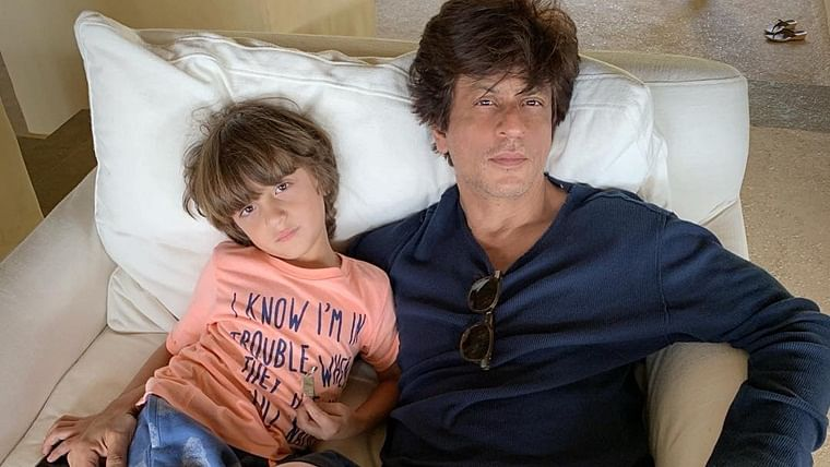 Image result for Shah Rukh Khan and Abram