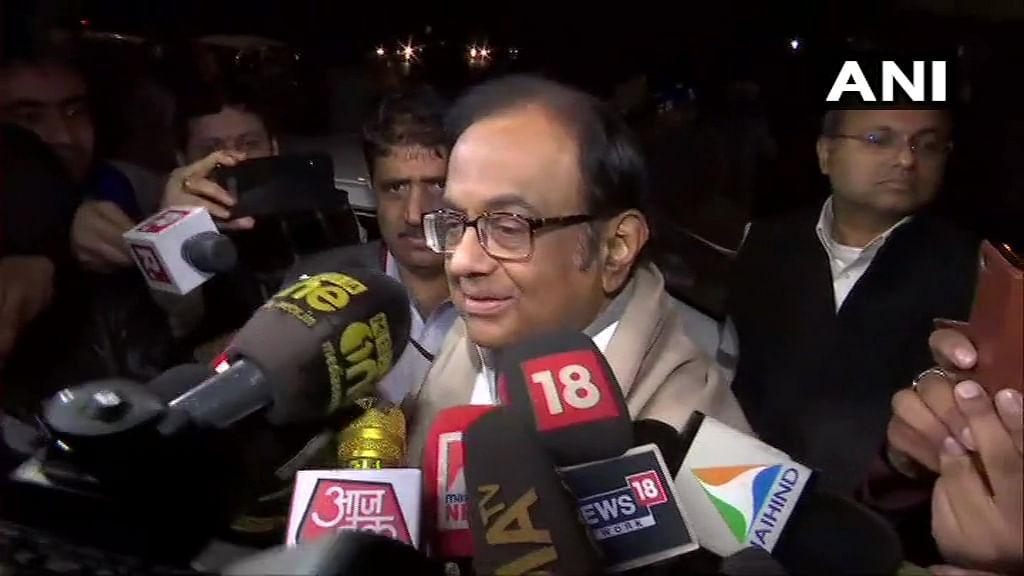 Lukewarm reaction in TN to Chidambaram's bail
