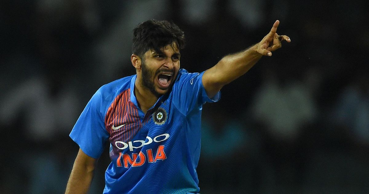 Shardul Thakur named as Bhuvneshwar Kumar's replacement for India's ODI squad against West Indies