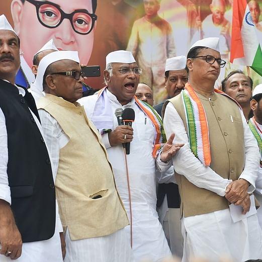 Congress won freedom, BJP reaping gains, says Mallikarjun Kharge