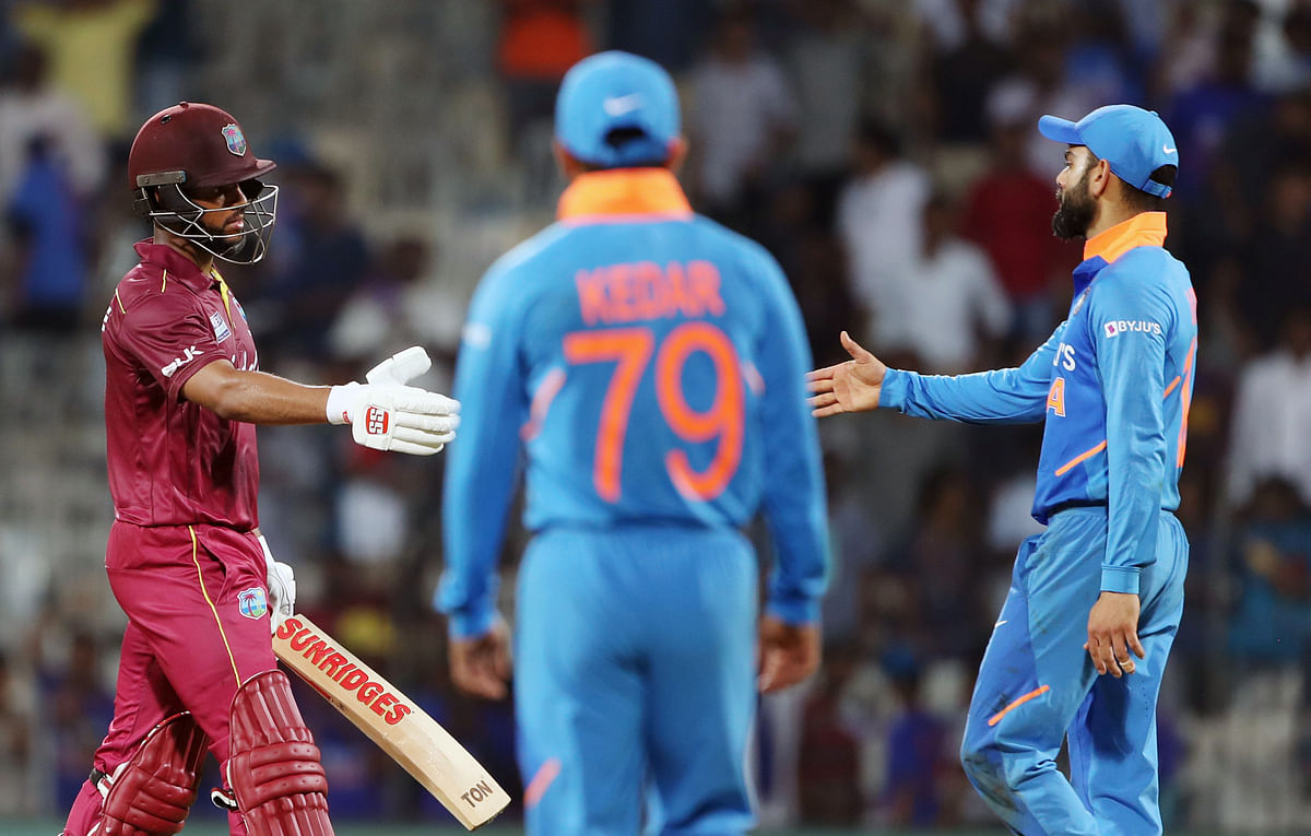 Hope shimmers alongside Shimron to give Kohli's men headache in opener, WI win by 8 wickets