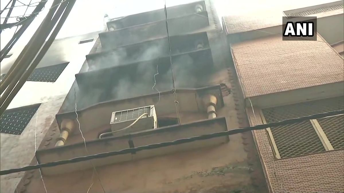 Delhi Fire Tragedy: Another fire breaks out in the same building in Anaj Mandi