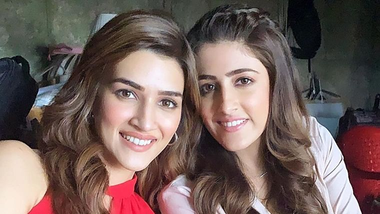 Nupur Sanon shares an emotional post for sister Kriti on 'Panipat' first day