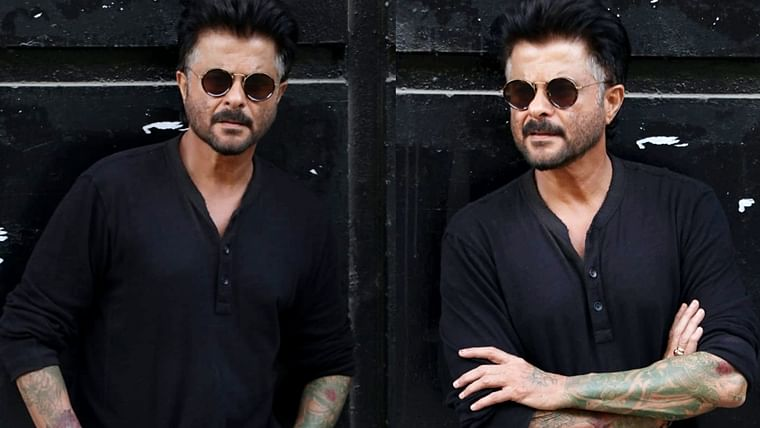 Did Anil Kapoor get his arms tattooed? They look 'Ekdum Jhakaas'
