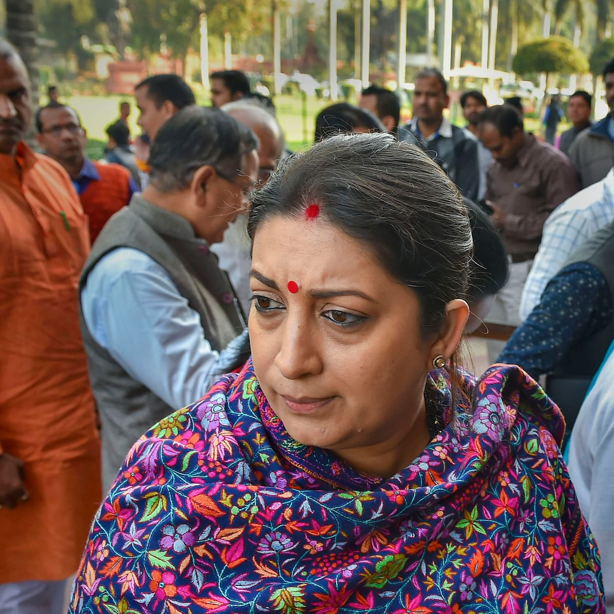 BJP seeks apology from Congress for 'threatening behaviour' against Smriti Irani in LS