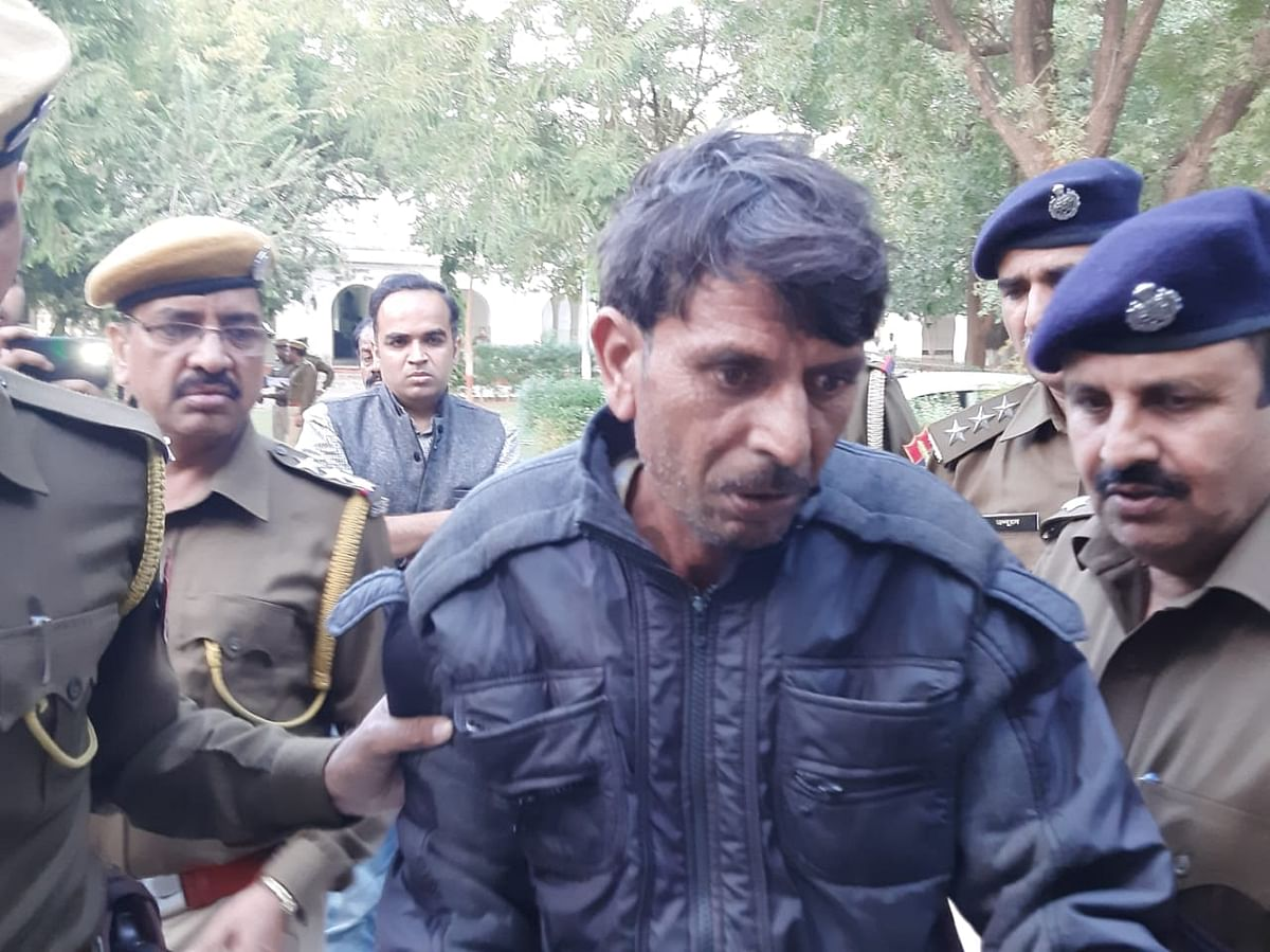 Police arrest Mahendra Meena for the rape and murder of 6-year-old in Tonk, Rajasthan.