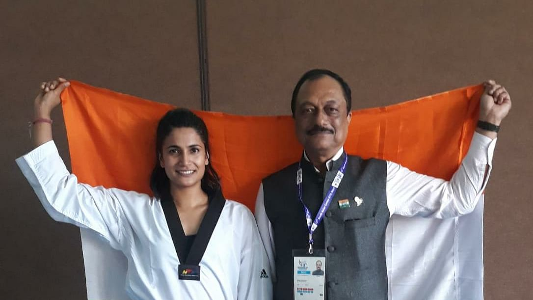 MP's Latika bags gold in South Asian Games
