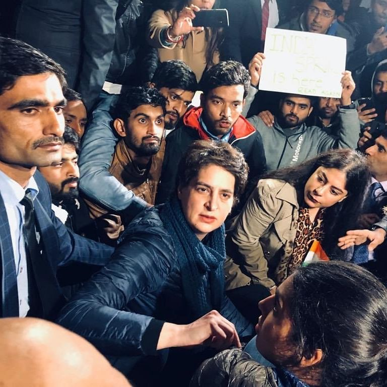 Another wave of persecution, says Priyanka Gandhi