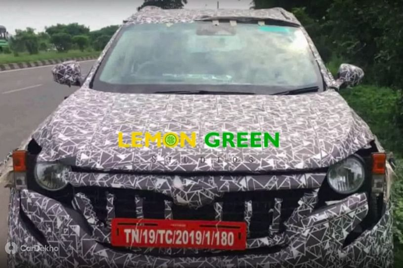 2020 Mahindra XUV500 Automatic spotted with new interiors
