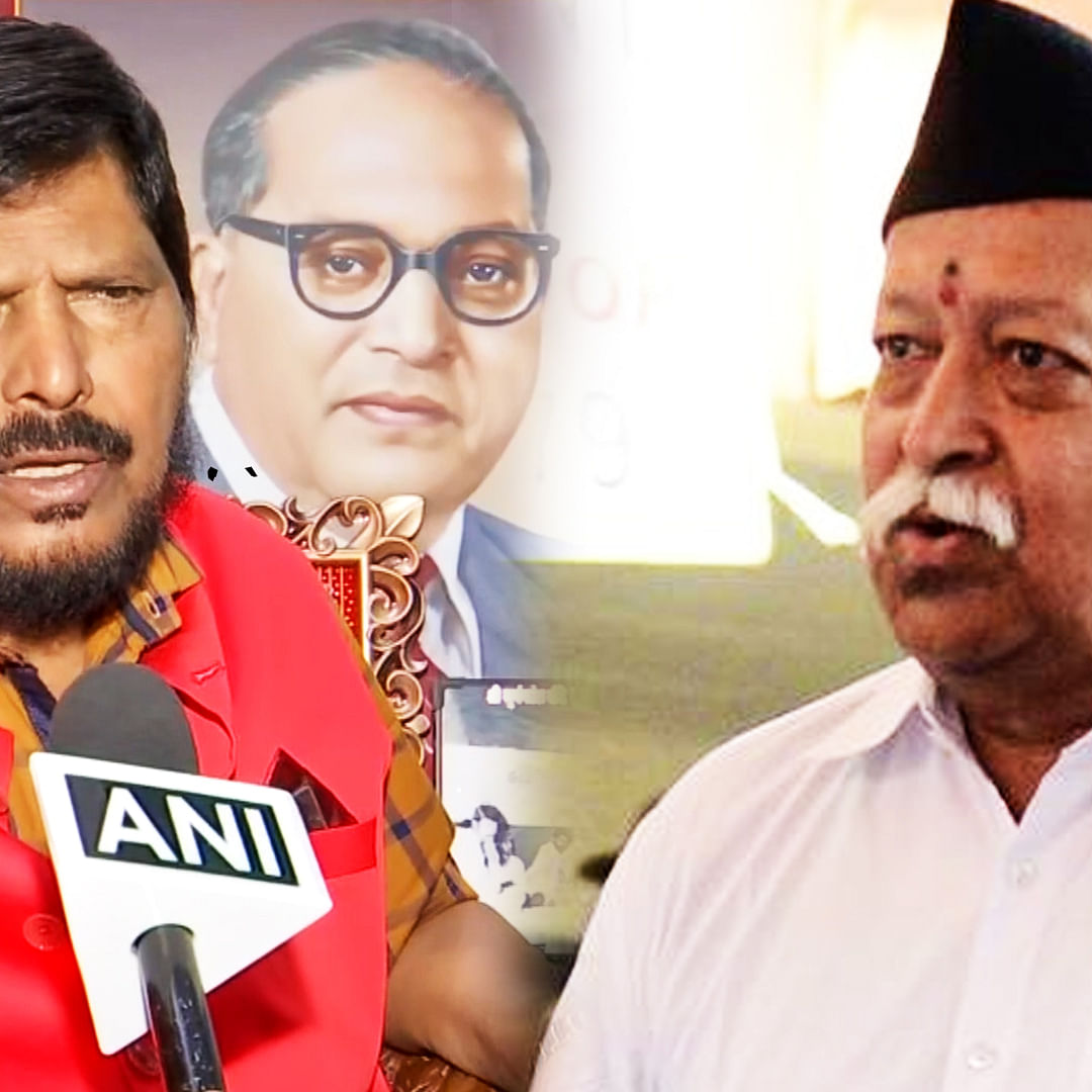 Not right to say all are Hindus: Ramdas Athawale on RSS chief's remark