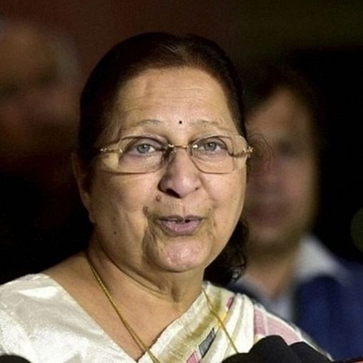 Indore: Unidentified person booked for rumour about ex-Lok Sabha Speaker Sumitra Mahajan's death