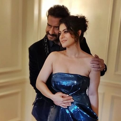 Move over DeepVeer, Ajay Devgn and Kajol turn up the heat in their Christmas picture
