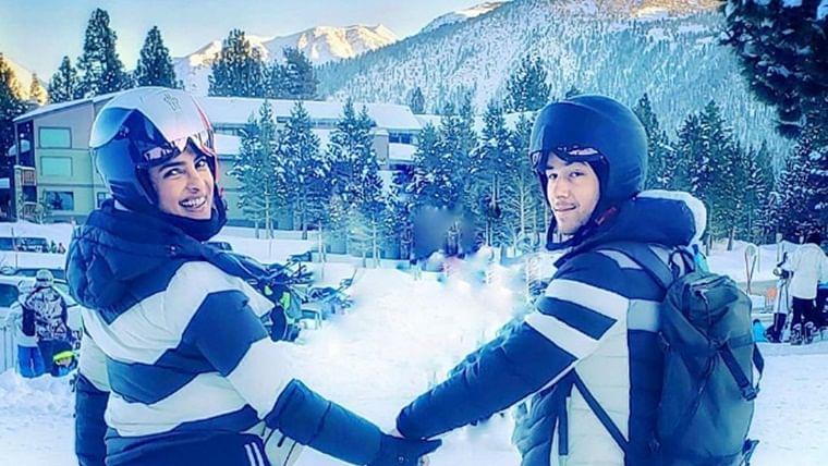 Twinning Swinning: Priyanka Chopra Jonas, Nick Jonas bid goodbye to the Winter Wonderland