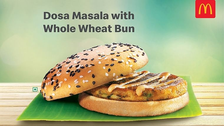 McDonald's now has a masala dosa burger and Twitter can't keep calm