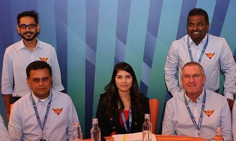 IPL 2020 auction: Who's the lady stealing the show at Sunrisers Hyderabad table?