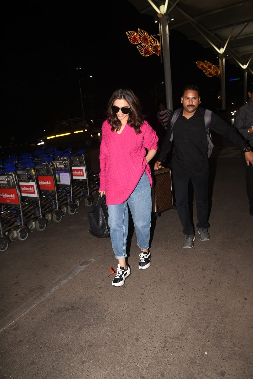 Cost of Deepika Padukone's airport luggage can get you a car!
