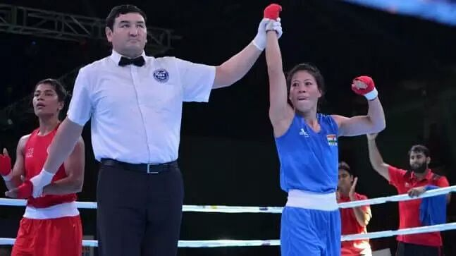 'I did not like how she behaved with me': Nikhat Zareen on Mary Kom failing to shake hands with her
