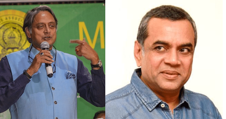 'Didn't pay attention in geography class': Shashi Tharoor roasts Paresh Rawal