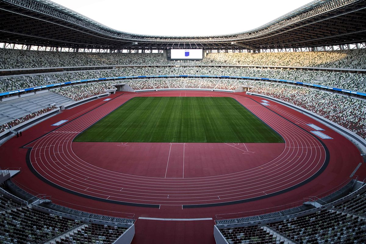Tokyo Olympics: Heat-busting stadium unveiled