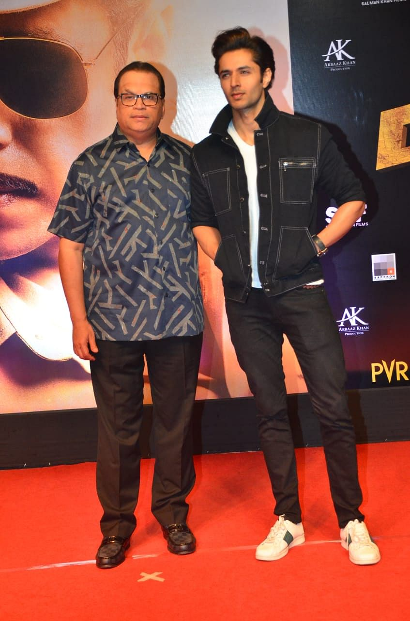 Siddharth Gupta with Producer Ramesh Taurani