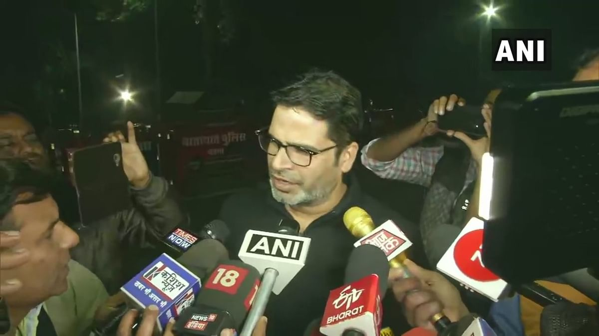 Not against Nitish, but against CAA and NRC: Prashant Kishor